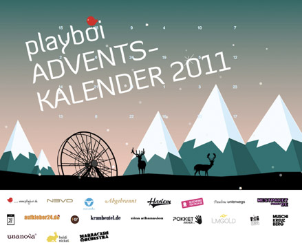 playboi Adventskalender 2011